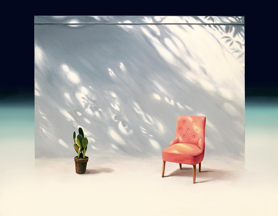 휴식 의자 ( Rest chair ) _145.5x112.1cm_Acrylic on canvas_2016